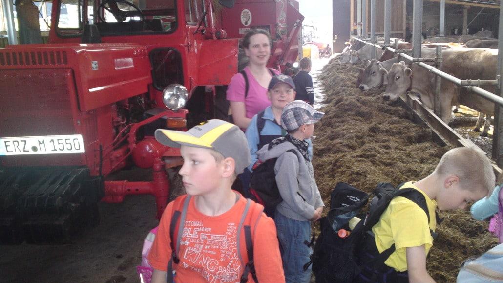 Schule auf dem Bauernhof