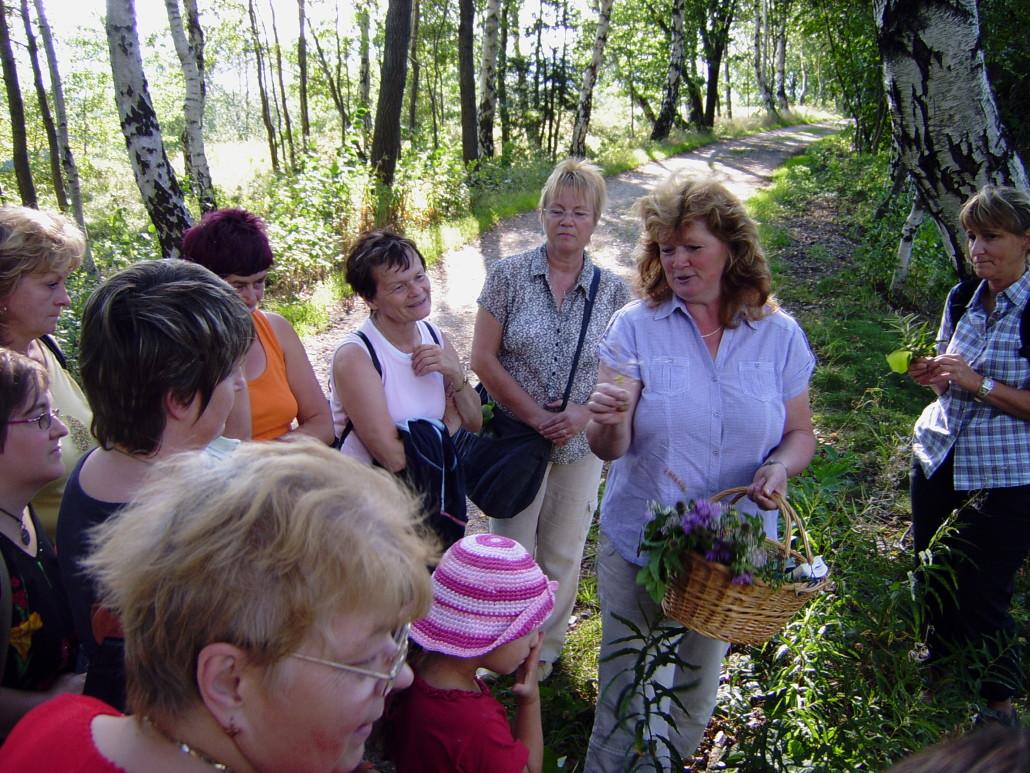 Erlebniswanderungen mit Frau Nestler